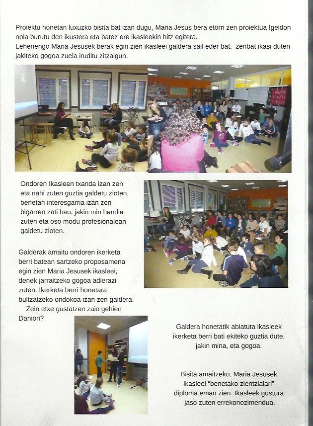 Redacción Igelldo 4 Proyectos de ciencia para niños