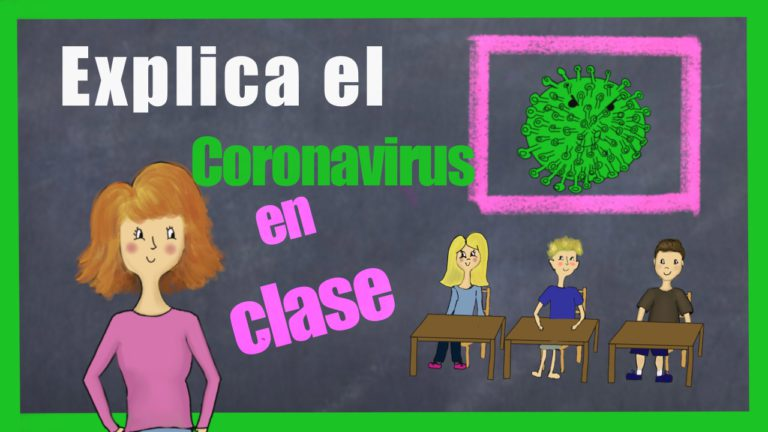 explicar coronavirus en el aula